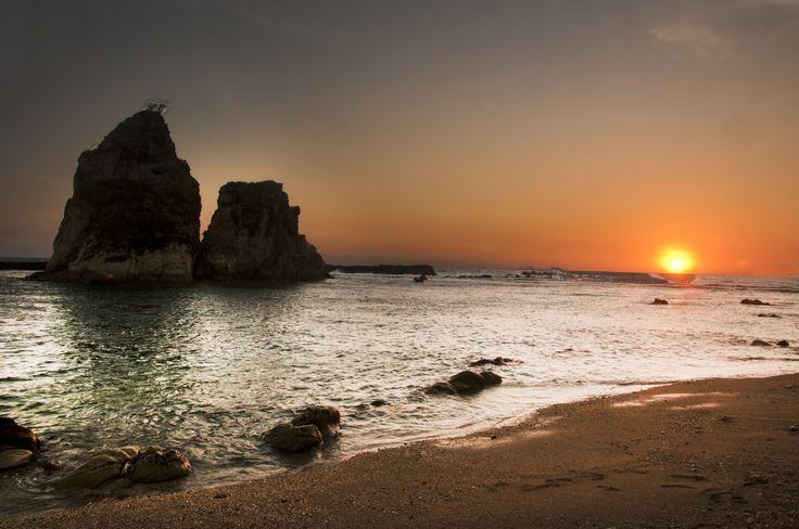 Sawarna Beach Indonesia