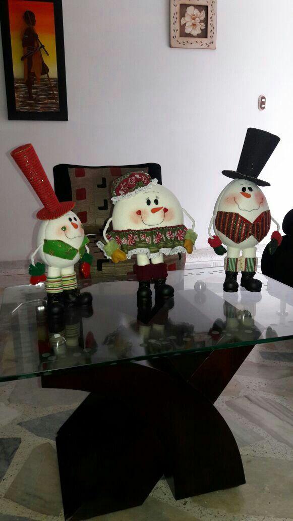 Huevos navideños