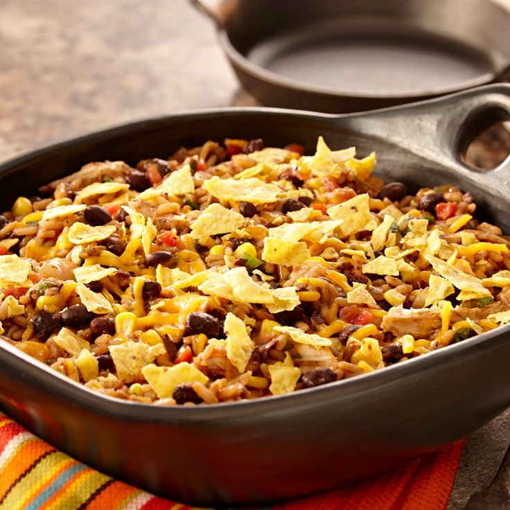 Mexican Rice Casserole. Start with Zatarain's Black Beans and Rice ...