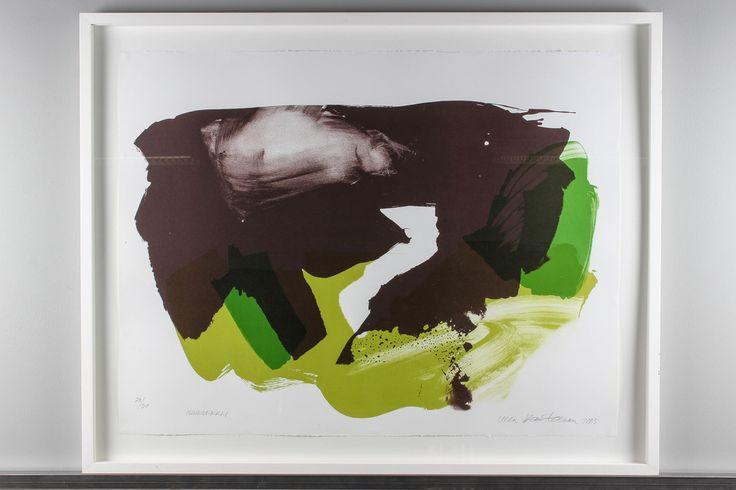Ulla Rantanen: Maamerkki, 2005, litografia, 70x90 cm, edition 20/30 - Huutokauppa Helander 8/2015