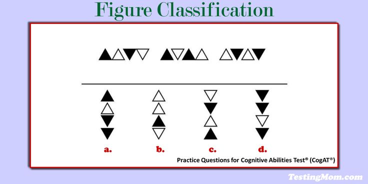 11 best school images on pinterest prep life prepping and assessment can your second grader solve this figure classification practice question for the cogat fandeluxe Gallery