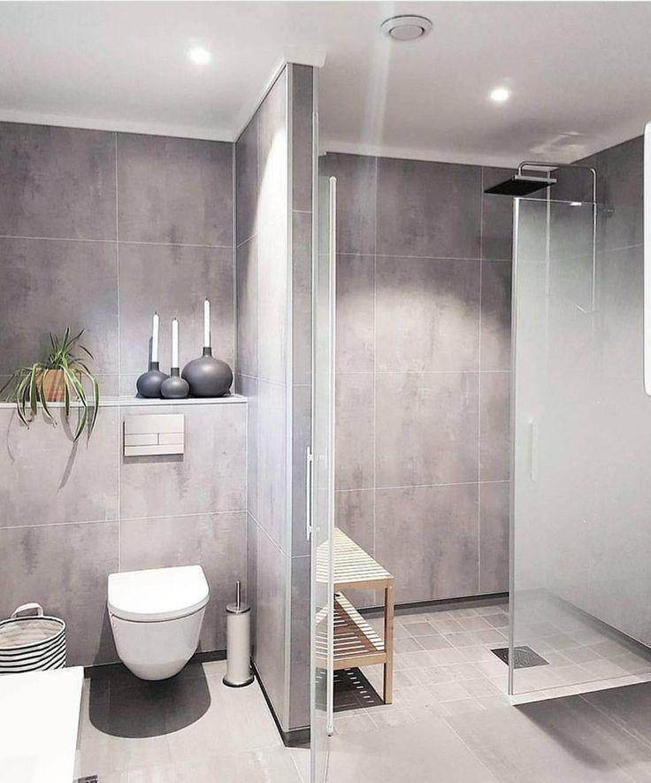 90+ Idées de design de salle de bains / maison scandinave | Deko ...