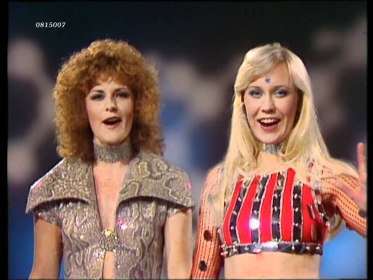 I love ABBA!!!! It's so funny to watch their music videos, though!!!!!