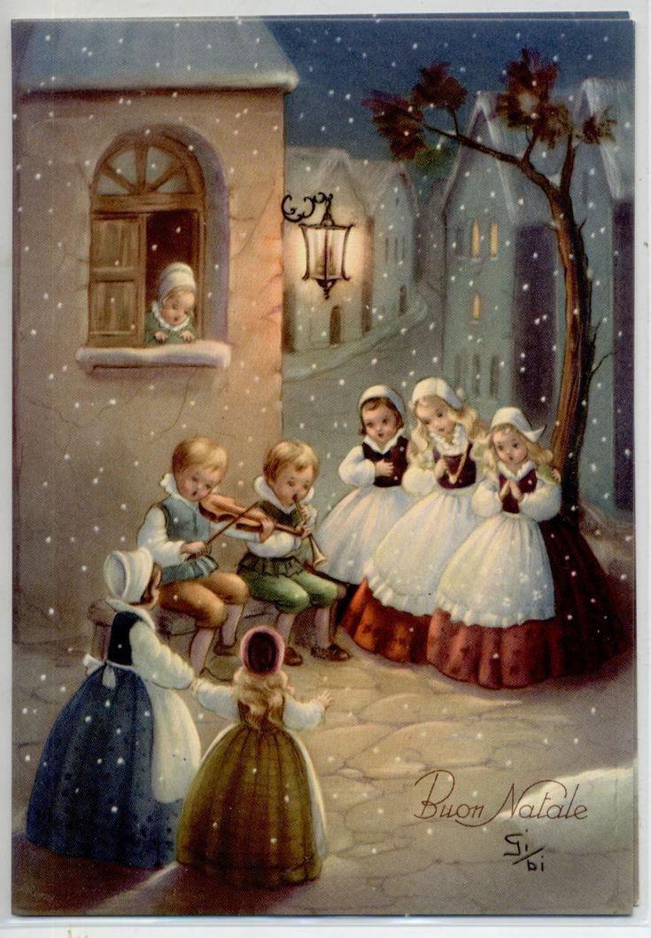 Итальянское рождество в открытках