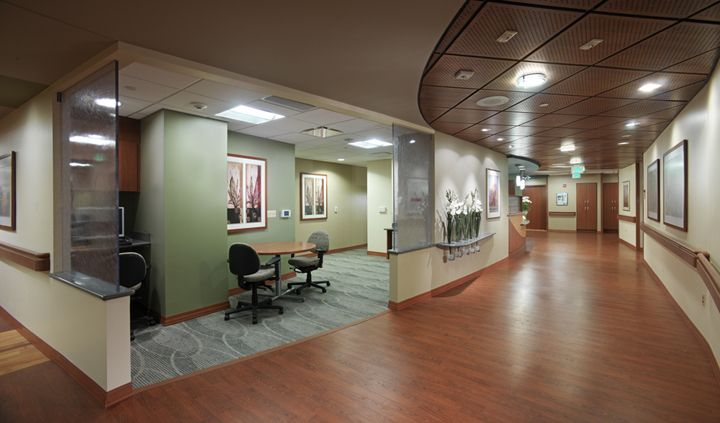 Nurse station design health care pinterest nurses for Designing interiors inc