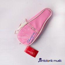 Violin Design Pouch - Pink