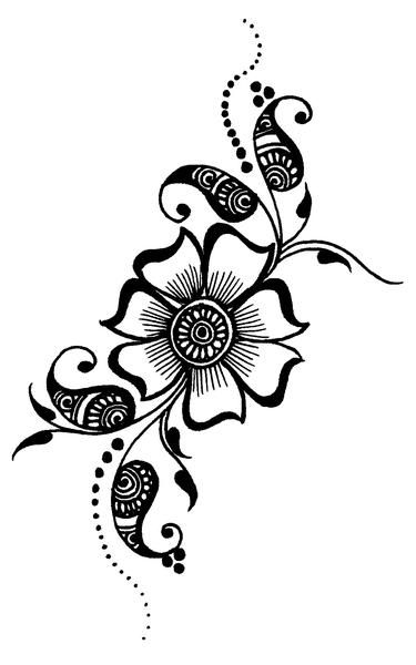Image Result For Printable Henna Stencils Henna Henne Tattoo
