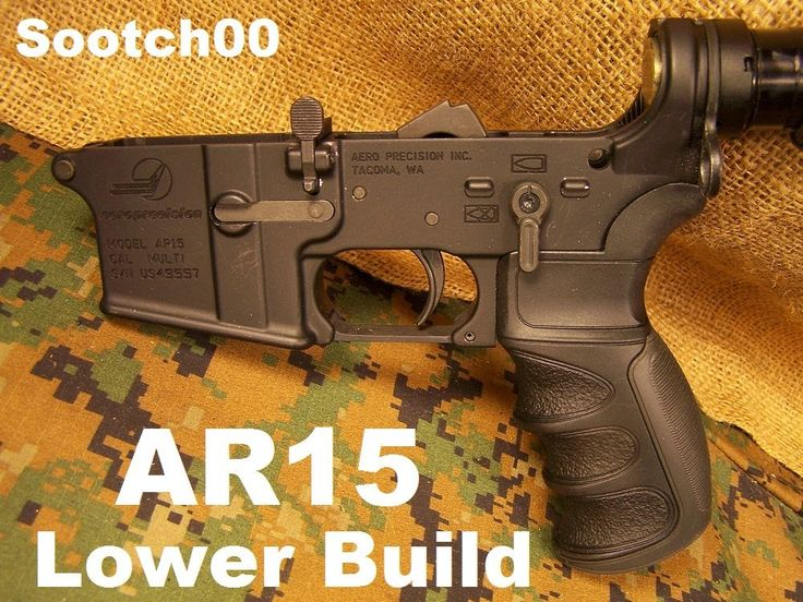 How to build the AR15 Lower