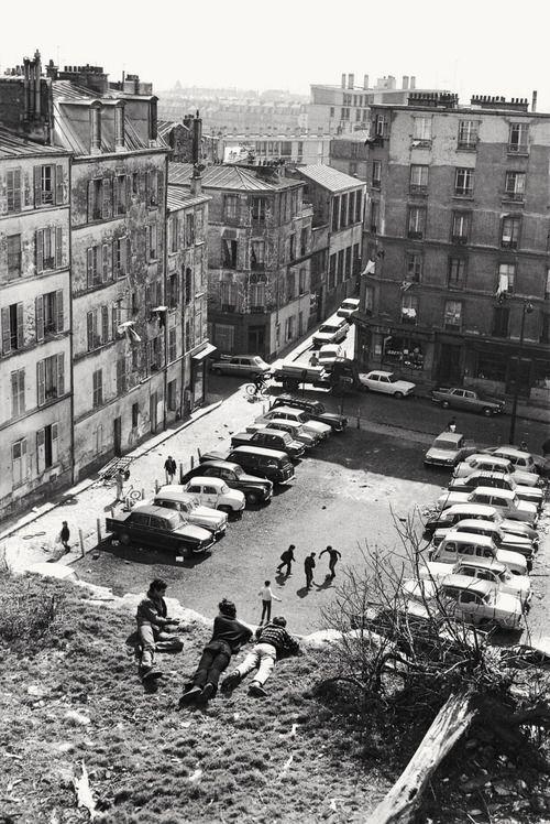 Paris Belleville 1969  Photo: Henri Cartier -Bresson