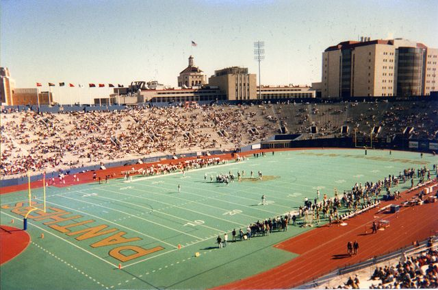 Pitt Stadium - Old Home Of the University Of Pittsburgh Panthers Football