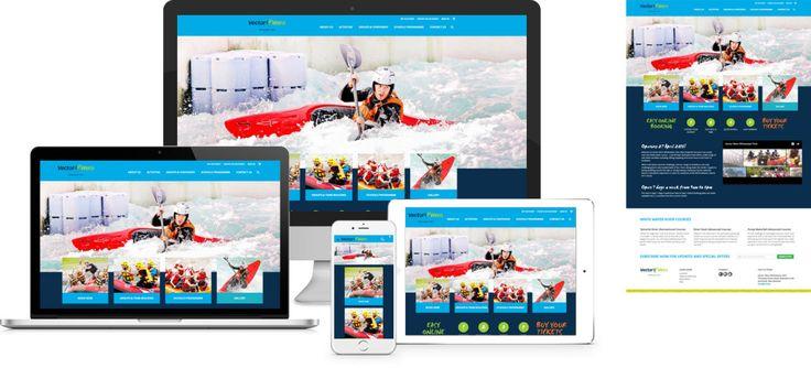 Magento2 website screenshot. New Zealands first white water park gets New Zealand's fist Magento 2 website.