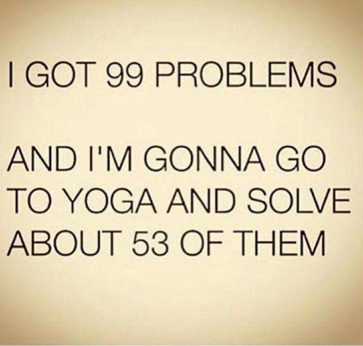 Yes! Sunday Yoga!
