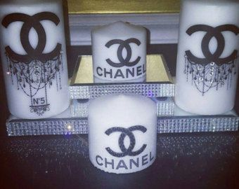 Chanel Candles by OhlalaSparkles on Etsy