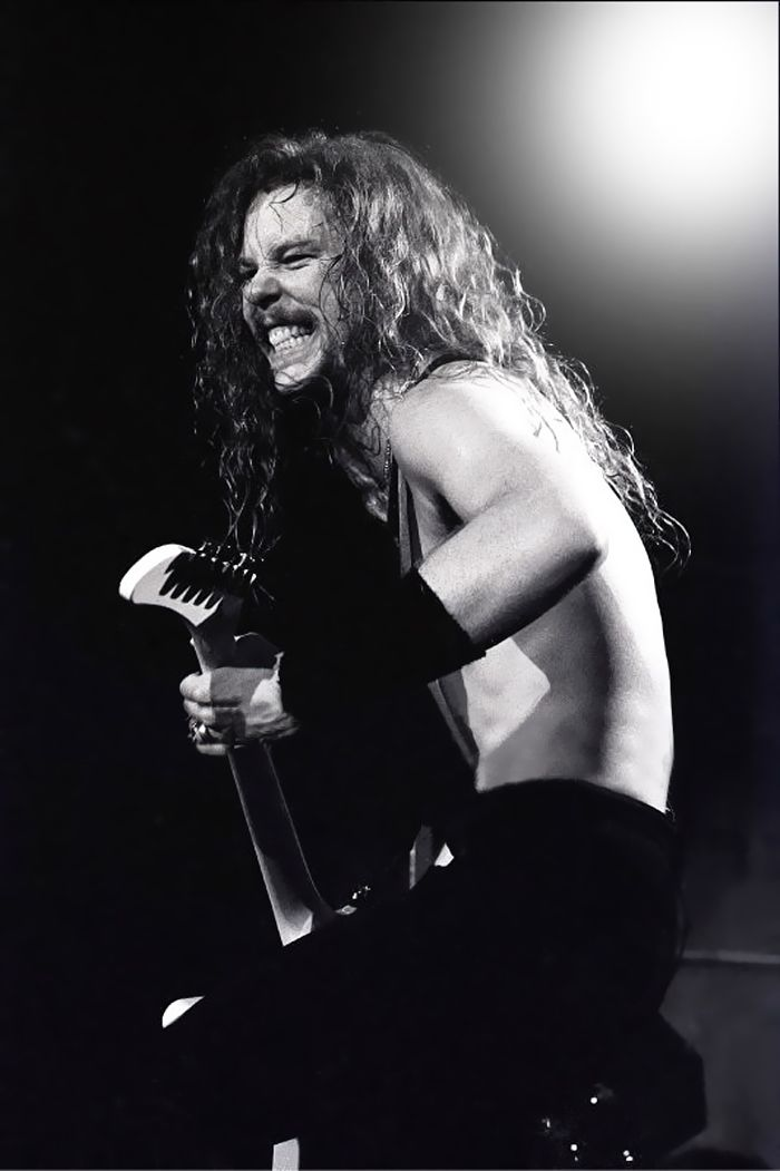 James Hetfield~Metallica Dem teef!!!