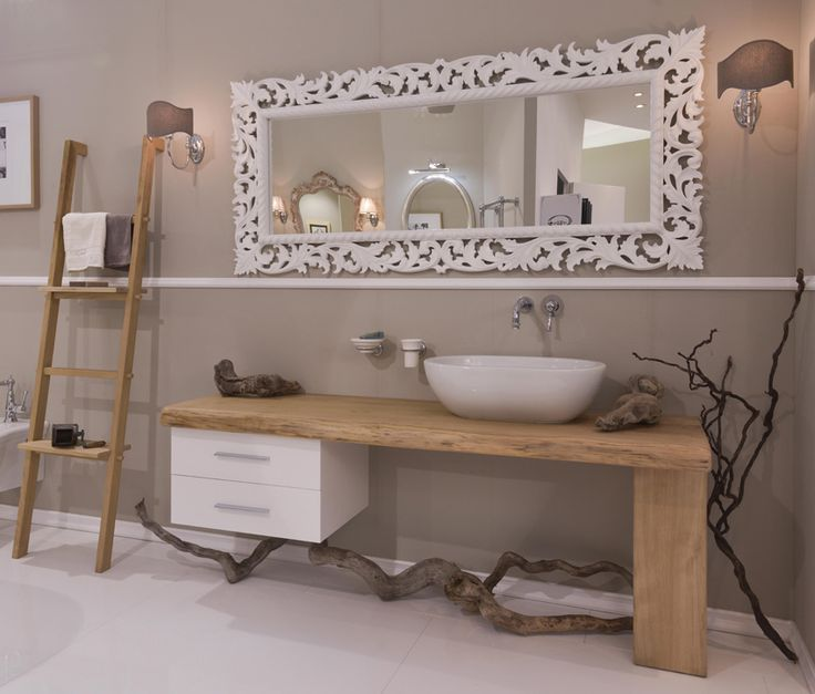 Bagno etnico teak idee creative di interni e mobili - Mobili bagno teak ...
