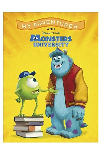 Personalised Gifts | Make Unique Gifts Online - Personalised Monsters University Adventure Book