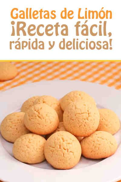 Galletas de Limón #galletas #limon #videoreceta #facil