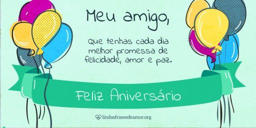 Mensagem Feliz Aniversario Para Facebook: 1000+ Ideas About Aniversário Amigo On Pinterest