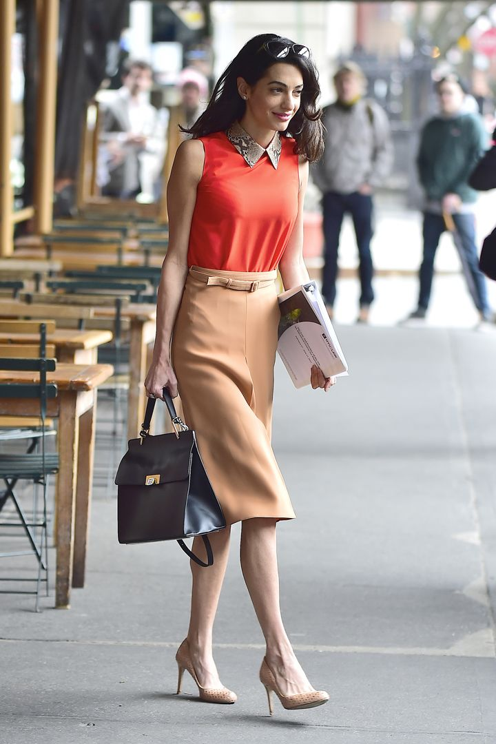 21 Summer Style Hacks to Steal From Amal Clooney to Wear to Work #AmalClooney #WorkWear #Fashion