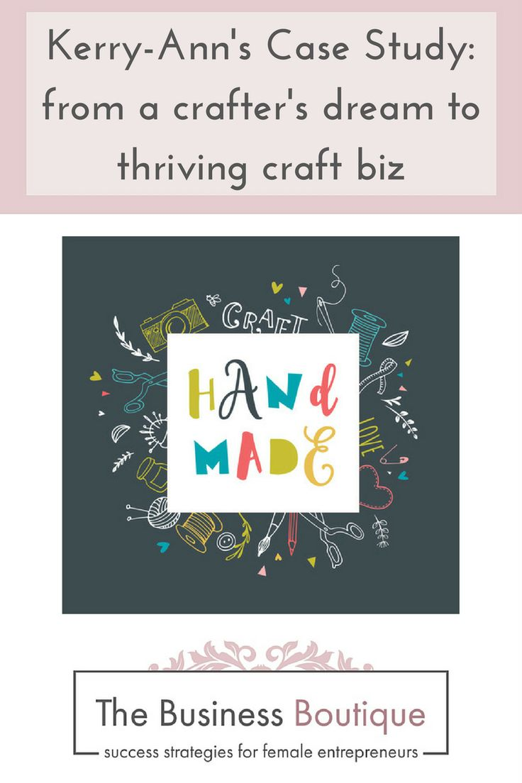 The Business Boutique | Blog Kerry-Ann started with a dream to have a business selling craft creations. In seven short months,' she turned her dream into a thriving craft hub. Read about her journey here.