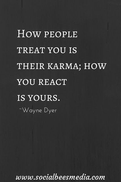 Quote about karma