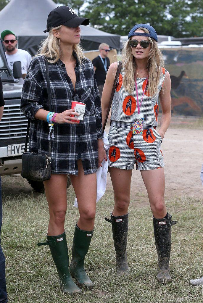 Glastonbury Festival 2015 Street Style Fashion | POPSUGAR Fashion UK