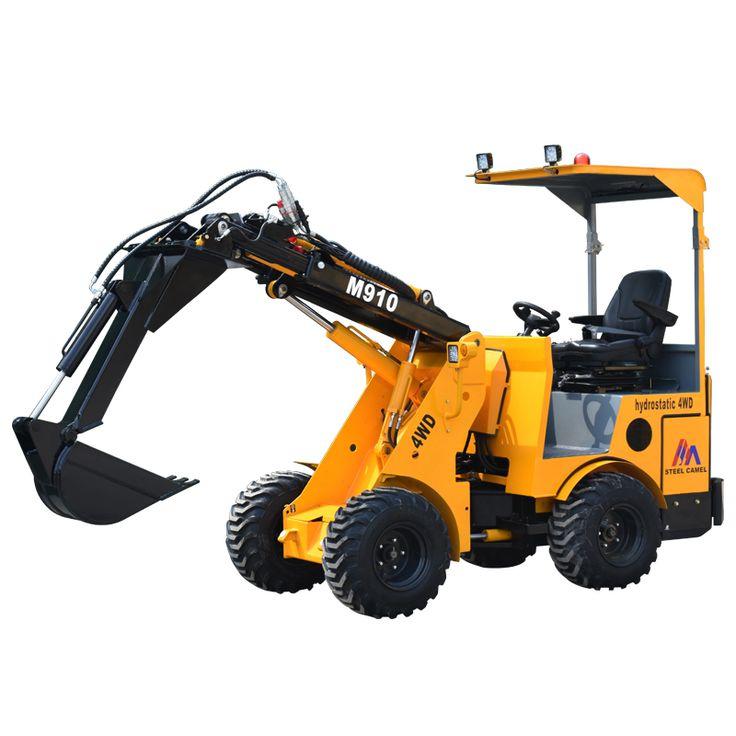 Mini new design good price digging excavator farm tractor for sale