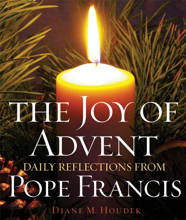 With prayerful reflections drawn from the words of Pope Francis, this Advent companion helps you prepare for the Christmas season. With Scripture citations for each day of the season, a selection from the pope's writings, and ways to bring the pope's message into your life, The Joy of Advent will lend a moment's meditation to even your busiest days.