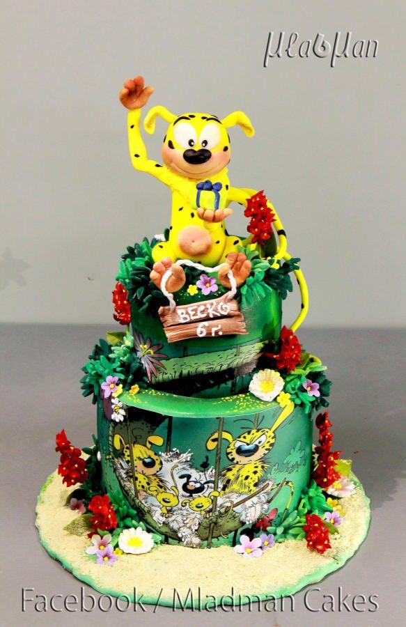 Marsupilami Cake - Cake by MLADMAN