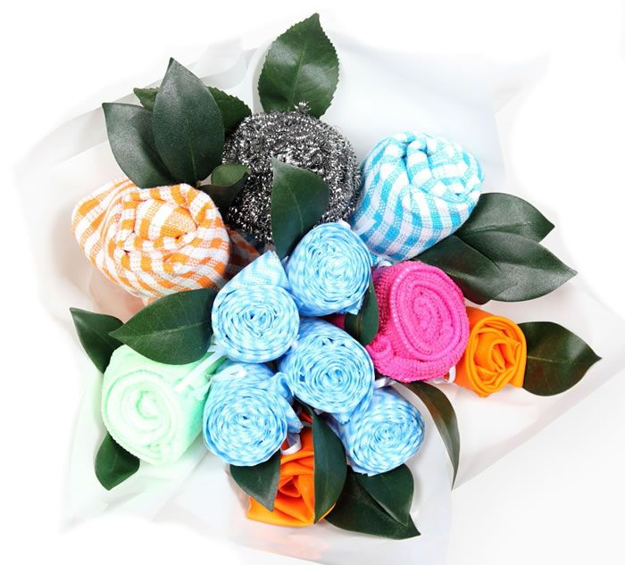 Kitchen hand  tea   dish clothes bouquet  Great for weddings  wedding  showers 19 best Kitchen tea images on Pinterest   Amazing cakes  Cakes and  . Great Kitchen Tea Gift Ideas. Home Design Ideas