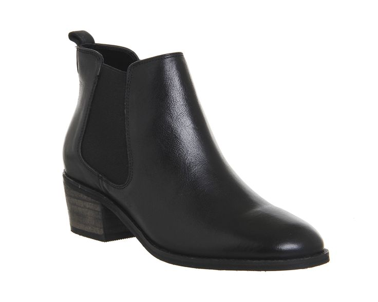 Buy Black Leather Office Jenkins Chelsea Boots from OFFICE.co.uk.