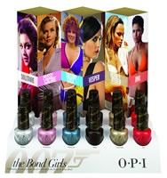 The new OPI Bond Girls collection  http://www.beautyguild.com/news.asp?article=2628