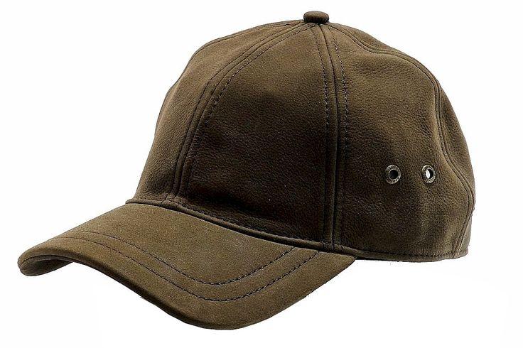 Купить Мужской головной убор Stetson Men's Leather Baseba...