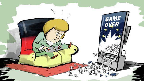 Οι Γερμανοί είναι ένας « διεστραμμένος » από την ιστορία του λαός, με πάρα πολύ χαμηλή ευφυΐα. Κατορθώνουν όμως πάντοτε να υπερισχύουν ...