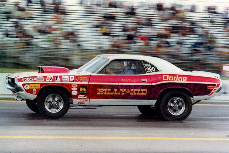 "Vintage Drag Racing - Biily 'The Kid"" Stepp's Pro Stock Dodge Challenger"