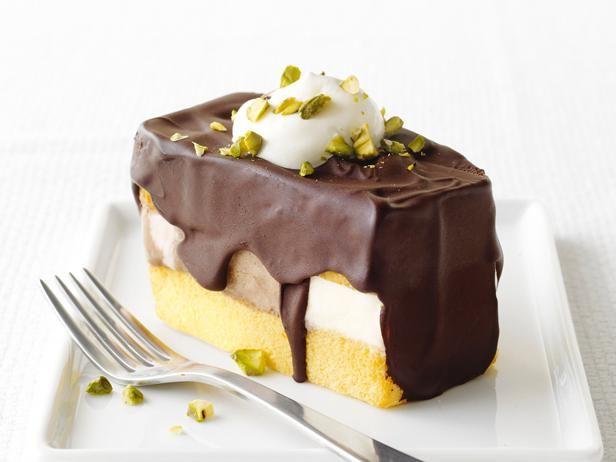Neopolitan Ice Cream Sandwiches #FNMag: Pound Cakes, Food Network, Ice Cream Sandwiches, Dessert Ideas, Frozen Desserts, Sandwiches Recipe, Sandwich Recipes, Neapolitan Ice, Icecream