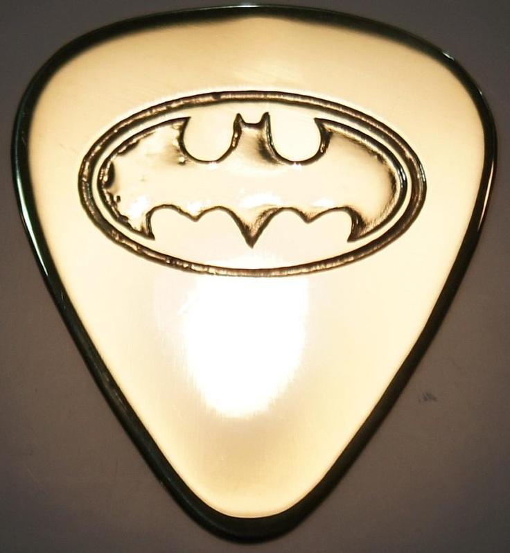 Batman - Brass Guitar Pick