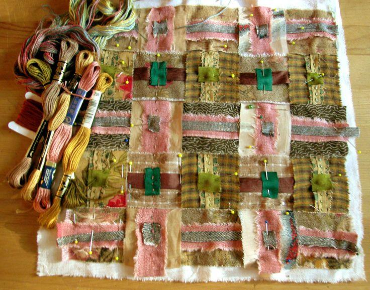Morna Crites-Moore: Cloth Weaving Workshop Progress