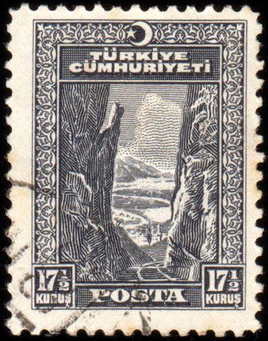Türk PullarıSakarya Demiryolu Hattı, hem paralara (1927) hem de pullara (1930) işlenmiştir.