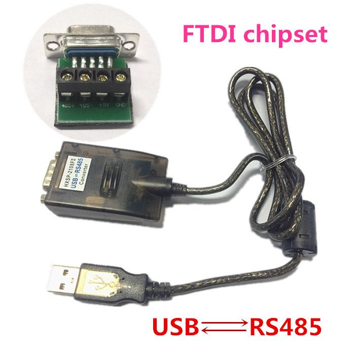 USB 2.0 to RS485 Serial DB9 Converter Cable FTDI FT232RL FT232BL Windows7 64 4 GPS Free Shipping