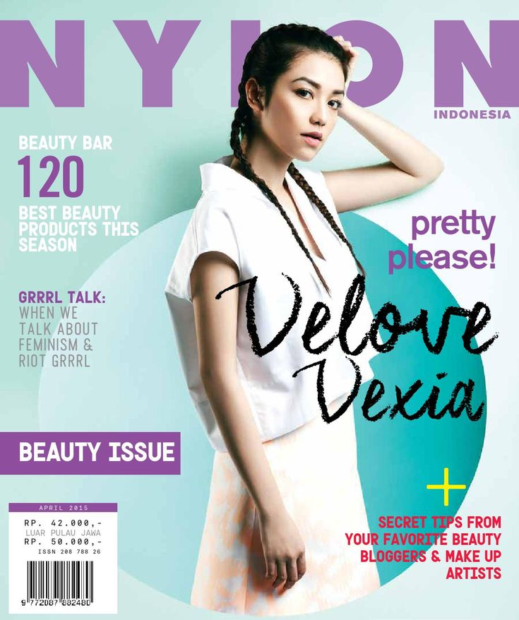 NYLON Indonesia / April 2015 DELOVE DEXIA
