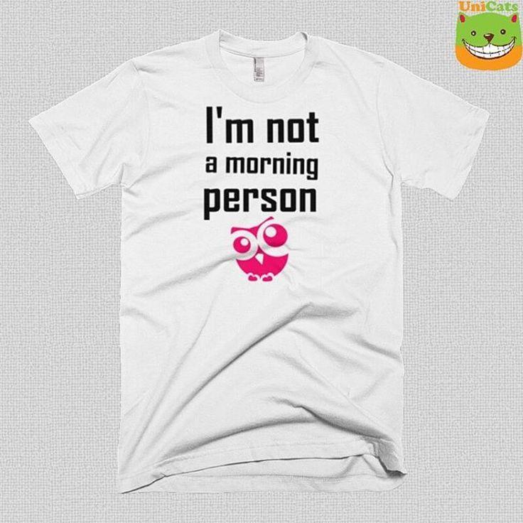 """""""New tshirts is in the shop. Join to us at www.unicats.pl #Unikatowa #koszulka dla prawdziwego śpiocha już dostępna na unicats.pl więc jeśli lubisz długo…"""""""
