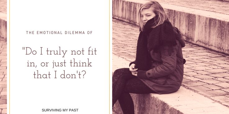 """Playing the blame game of why """"I JUST DON'T FIT IN"""" - https://www.survivingmypast.net/playing-the-blame-game-of-why-i-just-dont-fit-in/ #MondayBlogs #MondayMotivation #MentalHealth #SelfEsteem"""