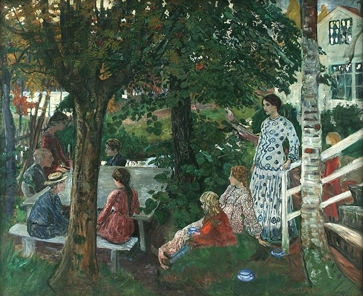 The Little-known Paintings of Nikolai Astrup | Faith is Torment | Art and Design Blog