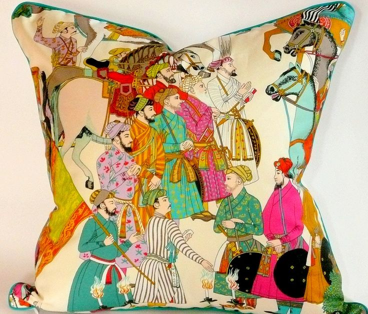Manuel Canovas Dara Pillow Cover by WestEndAccents on Etsy https://www.etsy.com/listing/155443829/manuel-canovas-dara-pillow-cover