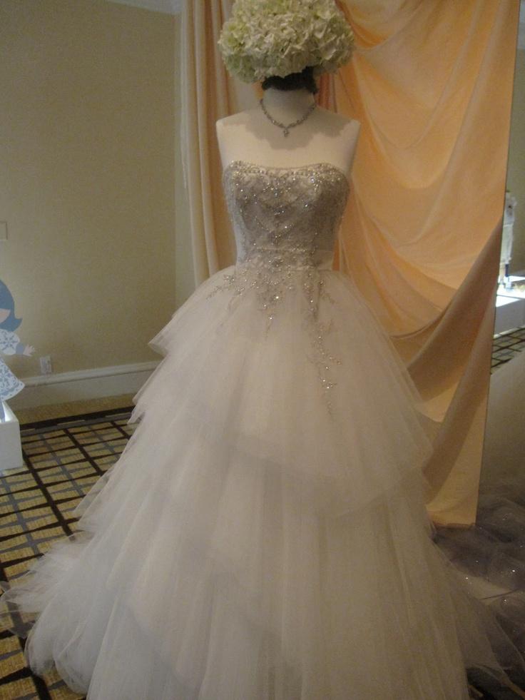 Cinderella platinum wedding dress from alfred angelo for Alfred angelo cinderella wedding dress