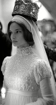 Bride at a Russian Orthodox Wedding