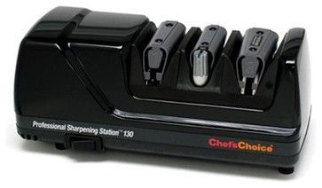 Chef's Choice Professional Sharpening Station 130 - Black contemporary-knife-sharpeners