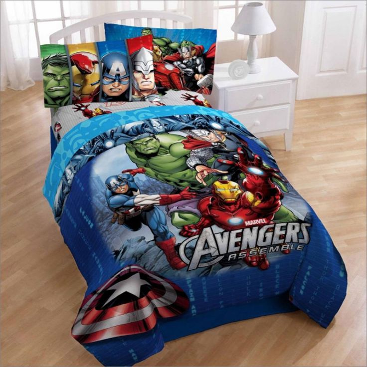 Best Avengers Bed Set Check more at http://blogcudinti.com/3177/best-avengers-bed-set/