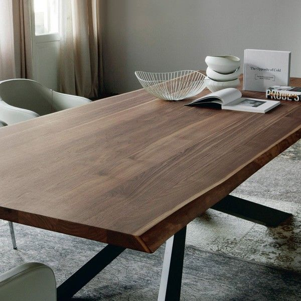 Cattelan Italia Spyder Wood Dining Table